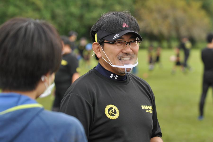 校長の清水佳忠さん